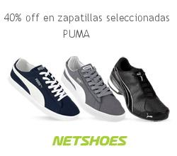 40% OFF en zapatillas Masculinas
